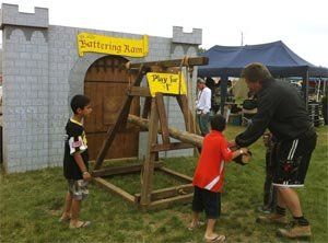 Medieval Battering Ram Game