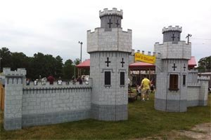 Castle Entrance-Medieval Ticket Booth