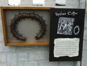 Spiked Collar - Medieval Neck Ring